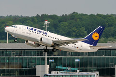 D-ABIN (PlanePixNase) Tags: zürich zurich zrh lszh kloten lufthansa 737 737500 b735 boeing airport aircraft planespotting