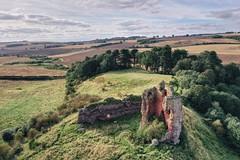 Red Castle, Lunan Bay (ShinyPhotoScotland) Tags: history heritage decay redcastle lunanbay building snapseed hdr djimavic2pro drone colour landscape scotland angus ruin castle