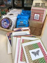 Franklin Bros market card basket (artnoose) Tags: franklin bros market berkeley california letterpress card basket counter cookies waffles sweets deepinkletterpress wholesale