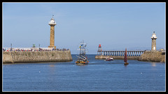 IMG_0009 Re-Edit (Scotchjohnnie) Tags: whitby yorkshire northyorkshire canon canoneos canon6d canonef70200mmf28lisiiusm scotchjohnnie riveresk barkendevour westpier