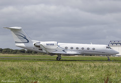 Silver Air G-IV N616RR (birrlad) Tags: shannon snn international airport ireland aircraft airplane aviation airplanes bizjet private passenger jet taxi taxiway takeoff departing departure runway n616rr gulfstream aerospace giv glf4 silver air