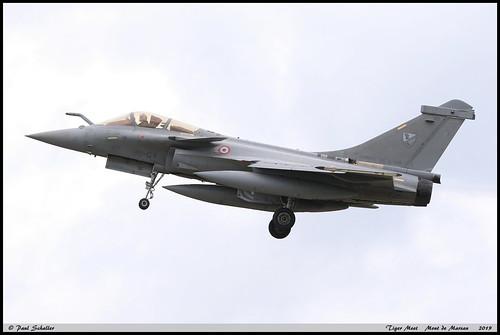 "RAFALE C 143 30-GV EC3/3 Lorraine couleur EC1/7 SPA15 III-7(6) Tiger Meet ""Mont de Marsan"" mai 2019"