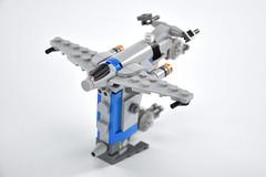 Resistance bomber mini 18 (fnxrak) Tags: resistance bomber starwars thelastjedi star wars lego miniscale fnxrak moc