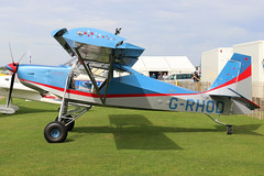 G-RHOD (GH@BHD) Tags: grhod justaircraft superstol microlight laa laarally laarally2019 sywellairfield sywell aircraft aviation