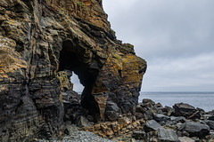 Rock arch, Port du Moulin (davee10101) Tags: 2019 portdumoulin rockarch sark seascape gg