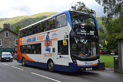 Stagecoach Cumbria & North Lancashire 11152 YX68UXC (Will Swain) Tags: grasmere 17th august 2019 cnl cumbria north west lake district lakes county bus buses transport transportation travel uk britain vehicle vehicles country england english 555 stagecoach lancashire 11152 yx68uxc