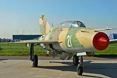 """MiG-21UM Mongol-B """"21 White"""" (Nils Mosberg) Tags: mig21 mig21ummongolb"""