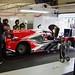 IDEC Sport's Ligier JSP217 Gibson in the Pits