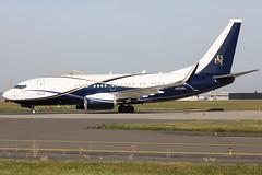 N839BA 090920191 (Tristar1011) Tags: ebbr bru brusselsairport boeingco boeing 737700 b737 bbj boeingbusinessjet n839ba