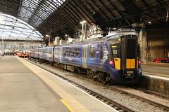 385121 Glasgow Queen Street 3/9/2019 (Martin Coles) Tags: scotrail trains train rail railways railway glasgow class385 at200 glasgowqueenstreet 385121