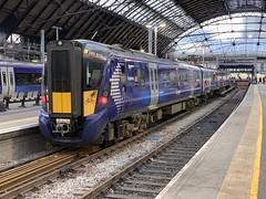 385012 Glasgow Queen Street 3/9/2019 (Martin Coles) Tags: scotrail trains train rail railways railway glasgow class385 at200 glasgowqueenstreet 385012