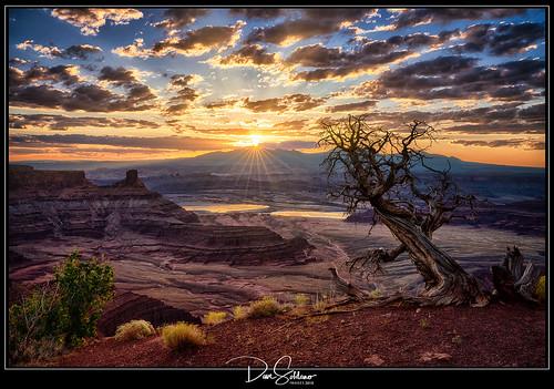 Spectacular Sunrise at Dead Horse Point