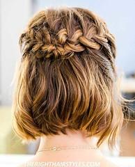 15 Alternatives Mignon Tresses pour Cheveux Courts (votrecoiffure) Tags: 2019 cheveux coiffure votrecoiffure