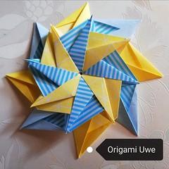 Playing with paper (UR Fleurogami) Tags: origami origamimodular modularorigamistar uwe