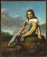 Alfred Dedreux (1810–1860) as a Child (lluisribesmateu1969) Tags: géricault onview themetropolitanmuseumofart newyork 19thcentury