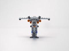 Resistance bomber mini 08 (fnxrak) Tags: resistance bomber starwars thelastjedi star wars lego miniscale fnxrak moc