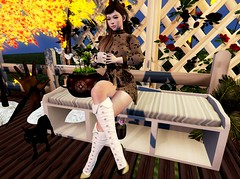 @ Tea Time ♥♠ (Fashion Flair SL , Karla Rivera) Tags: styllusstore karlarivera maitreya peppers genus babyface elikatira mudskin