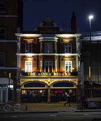 The Blind Beggar (London Less Travelled) Tags: uk unitedkingdom britain england london eastlondon eastend towerhamlets street urban city suburb suburbs suburban suburbia night dark light whitechapel pub blindbeggar