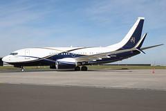 N839BA 09092019 (Tristar1011) Tags: ebbr bru brusselsairport boeingco boeing 737700 b737 bbj boeingbusinessjet n839ba