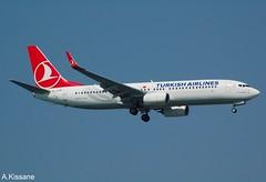 TURKISH AIRLINES B737 TC-JVM (Adrian.Kissane) Tags: turkey aviation flight flying sky outdoors 737 boeing airline airliner jet plane aircraft aeroplane 60016 942018 b737 tcjvm ataturk istanbul turkish