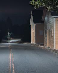 Forever walking (backwardsdrifting) Tags: night nightmoves nightphotography nighttopographics newtopographics shadows suburbs gfx50s fujigfx50s fujicamera fujilove mediumformat dark dimlylit