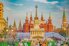 _MG_2018 (Mikhail Lukyanov) Tags: russia moscow city street tverskaya cityday peoplewalking kremlin sky clouds hdr