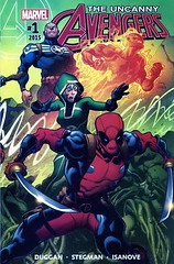 UA Vol3-#1-$5 (Hot Buys From Jojo) Tags: marvel comics avengers uncanny deadpool synapse rogue torch