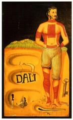 Postcrossing US-6247459 (booboo_babies) Tags: salvadordali dali painting surrealistposter surreal art 1934 1930s postcrossing