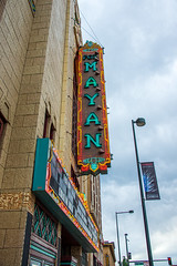 Mayan Theatre (Snap Man) Tags: artdeco artdecomayanrevival broadway colorado denver mayantheatre speer architecture marquee neonsign neonsigns sign theater unitedstates