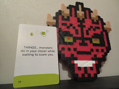Card 40 (Pookie_Monster) Tags: card 40 things monsters do your closet while waiting scare you