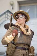 20190831-122049-5D4Z5447 (zjernst) Tags: 2019 armor atlanta convention cosplay costume dragoncon fallout gloves goggles gun hat ncr outside postapocalyptic rifle summer videogame weapon