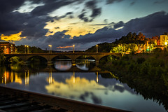 sheltonderbybridge (kamilgolebiowski98) Tags: 50mm f9 bridge water sunset canon eosrp fullframe mirrorless landscape longexposure