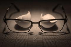 2 (JeffStewartPhotos) Tags: glasses egg eggshell broken garbage cracked eaten eyeglasses utata ironphotographer ironphotographer287 utata:project=ip287 trash putonyourface findinthetrash sepia sepiacolor sepiacolour blackwhite blackandwhite bw project