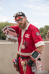 20190901-172830-5D4Z0355 (zjernst) Tags: 2019 atlanta convention cosplay costume dragoncon fallout glasses goggles hat jumpsuit postapocalyptic powerfist scifi summer videogame