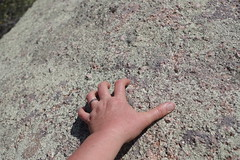 Hand on granite/lichen (EllenJo) Tags: prescott prescottarizona yavapaicounty arizona september9 2019 prescottaz az