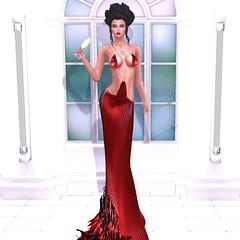 Virtual Diva - Venus (catsrage17) Tags: virtualdiva chopzuey rackposes kastlerockcouture exile maitreya lelutka glamaffair zibska
