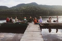 2019-11-11 Knitters on a dock