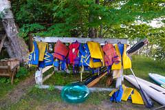 DSC01578 (Dallas K. Sanders) Tags: floters cottage july19 kayak huntsville lifevests camera sonyrx100v ontario canada cottagelife july travelswithmom ores 2019 safetyfirst canoe