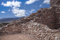 Tuzigoot National Monument 2 (Largeguy1) Tags: landscape blue sky clouds canon 5d mark ii