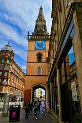 Tron Steeple, Glasgow, UK (Robby Virus) Tags: glasgow scotland uk unitedkingdom britain gb greatbritain merchant city clock tower architecture building tron steeple church