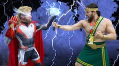 Thor vs Hercules (LegionCub) Tags: dragoncon2019 dragoncon mcu marvelcomics superheroes costume cosplay avengers