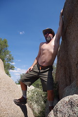 Chad on granite (EllenJo) Tags: prescott prescottarizona yavapaicounty arizona september9 2019 prescottaz az