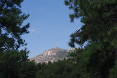 Granite Mountain view from Yavapai Campground (EllenJo) Tags: prescott prescottarizona yavapaicounty arizona september9 2019 prescottaz az