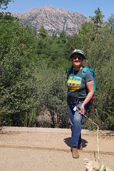 Ellen at campsite #1 (EllenJo) Tags: prescott prescottarizona yavapaicounty arizona september9 2019 prescottaz az