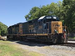 IMG_9874 (Andy961) Tags: winchester virginia va railway railroad train freight csx diesel locomotive engine emd gp402 6039 gp35 2316