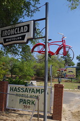 Ironclad Bicycles, Hassayampa Mobile Home Park (EllenJo) Tags: prescott prescottarizona yavapaicounty arizona september9 2019 prescottaz az