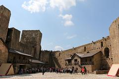 Smederevo Fortress 4 (srkirad) Tags: travel smederevo serbia srbija fortress sun sunny stone rocks sky clouds summer medieval