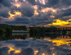 insanesky (kamilgolebiowski98) Tags: sunset 50mm canon fullframe mirroless f8 longexposure water landscape