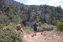Chad, Along Mint Wash, Granite Mountain Recreation Area (EllenJo) Tags: prescott prescottarizona yavapaicounty arizona september9 2019 prescottaz az