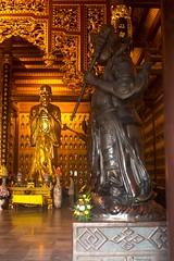 Estatua dorada (rraass70) Tags: canon d700 monumentos estatuas ninbinh deltadelriorojo vietnam